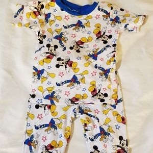 Mickey PJ set